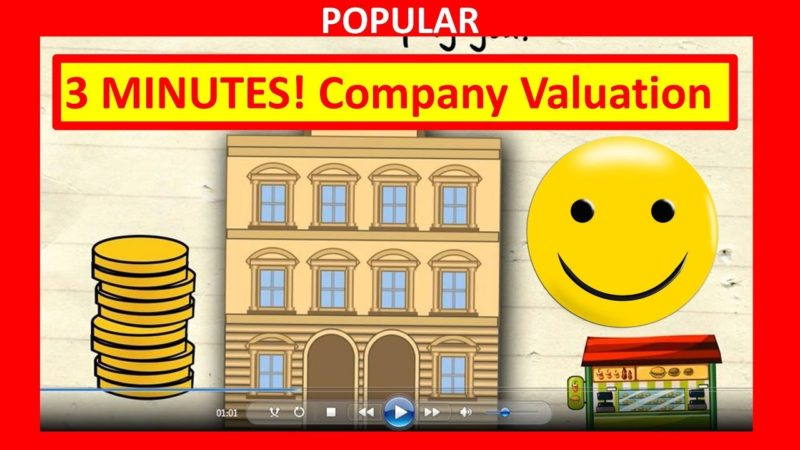 Video: 3 Minutes! How to Value a Company (WARNING – Bad info)