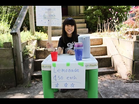 Kid's Lemonade Stand Sells for $500,000