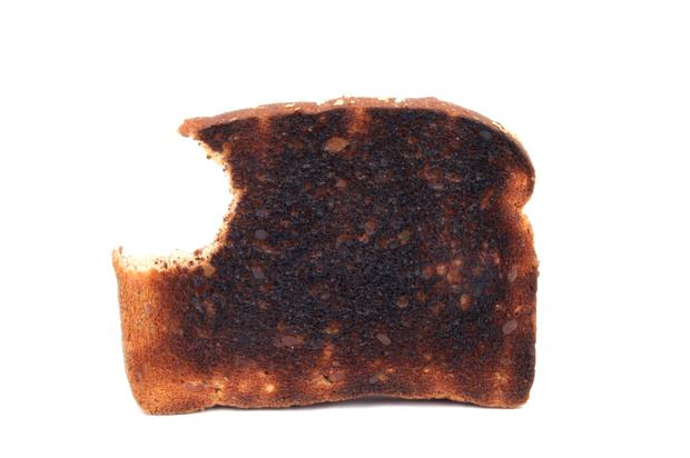 I Looked in the Mirror and Saw a Crispy Piece of Toast Looking Back